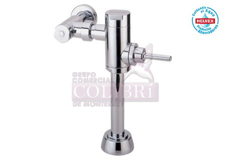 Fluxometro para wc de manija mod 210 38 colibri for Manija para sanitario